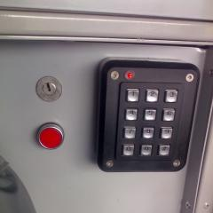 Immobiliser Key Pad